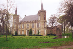 CASTLE IN THE NETHERLANDS Royalty Free Stock Photos