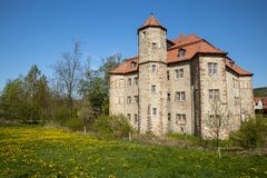 The castle of Netra in Hesse. In Germany royalty free stock image
