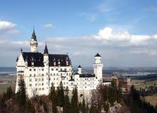 Castle Neuschwanschtein. The castle Neuschwanschtein nearly to Munich Royalty Free Stock Image