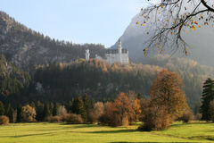 Castle of Neuschwanstein Royalty Free Stock Photos