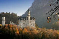 Castle of Neuschwanstein Stock Images