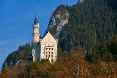 Castle of Neuschwanstein Royalty Free Stock Photo