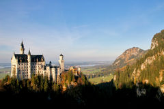 Castle of Neuschwanstein Stock Photography