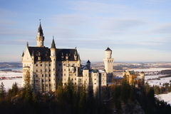 Castle Neuschwanstein Stock Image