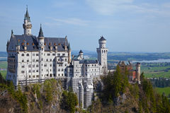 Castle Neuschwanstein Royalty Free Stock Photo