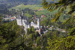 Castle of Neuschwanstein Stock Photo