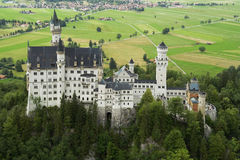 The Castle Neuschwanstein Stock Photo