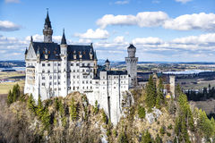 Castle Neuschwanstein Stock Photos