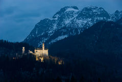 Castle Neuschwanstein Stock Images