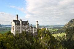 Castle Neuschwanstein Stock Photo