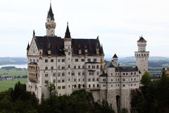 Castle Neuschwanstein at Allgau Bavaria Germany Stock Images