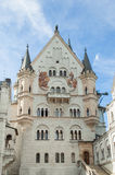 The castle of Neuschwanstein in Bavaria, Germany. Beautiful summer view of the Neuschwanstein castle Royalty Free Stock Image