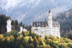 Castle Neuschwanstein Royalty Free Stock Photos