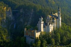 Castle, Neuschwanstein Castle Stock Images