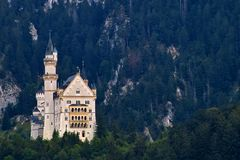 Castle, Neuschwanstein Castle Royalty Free Stock Images