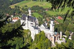Castle neuschwanstein Stock Photography