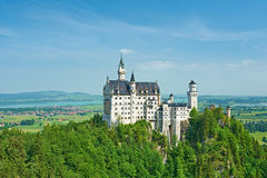 The castle of Neuschwanstein in Germany Royalty Free Stock Image