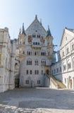 Castle Neuschwanstein Germany Bavaria Royalty Free Stock Image