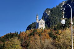 Castle of Neuschwanstein Stock Images