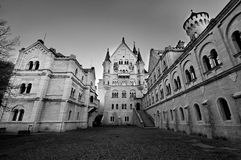 Castle of Neuschwanstein Royalty Free Stock Photography