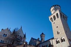Castle of Neuschwanstein Royalty Free Stock Image