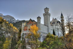 Castle of Neuschwanstein Royalty Free Stock Photography