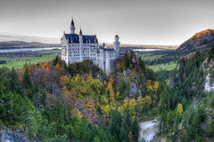 Castle of Neuschwanstein Royalty Free Stock Images