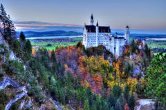 Castle of Neuschwanstein near Munich Stock Image
