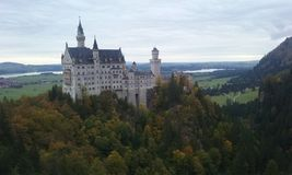 Castle Neuschwanstein. This is a pic from the castle Neuschwanstein Royalty Free Stock Images