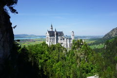 The Castle in Neuschwanstein Royalty Free Stock Photography
