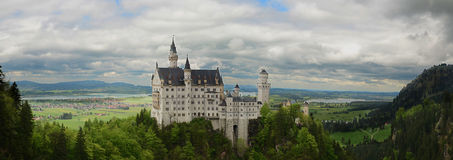 Castle Neuswanstein Stock Photos
