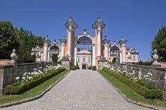 Castle New Castle-Czech Royalty Free Stock Photo