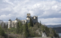 Castle in Nidzica. Medieval castle in Nidzica (Poland Royalty Free Stock Photography