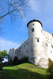 Castle in Niedzica. Poland Stock Photos