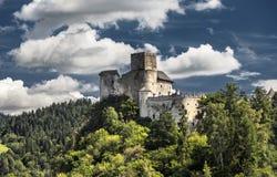 Castle Niedzica in Poland Stock Photo