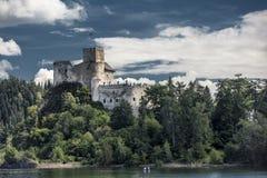 Castle Niedzica in Poland Stock Images
