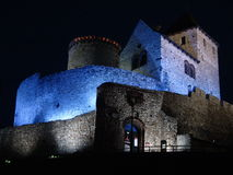 Castle by Night Stock Photography