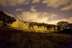 Castle at night Royalty Free Stock Photos