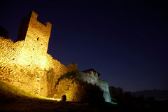 Castle night Royalty Free Stock Image