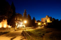 Castle night Royalty Free Stock Photography