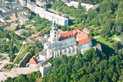 Castle in Nitra Stock Image