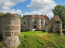 Castle in Normandy France Royalty Free Stock Image