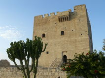 Castle - Northern Cyprus Stock Images