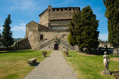 Castle in northern Italy Stock Photos