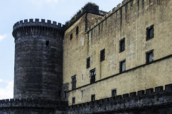 Castle Nouvo in Naples Stock Image