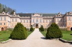 Castle Nove hrady Stock Image