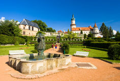 Castle of Nove Mesto nad Metuji Stock Photography