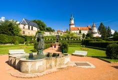 Castle of Nove Mesto nad Metuji Stock Photography