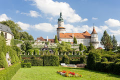 Castle of Nove Mesto nad Metuji Royalty Free Stock Photos