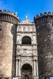 Castle Nuovo, Naples, Italy Stock Photos